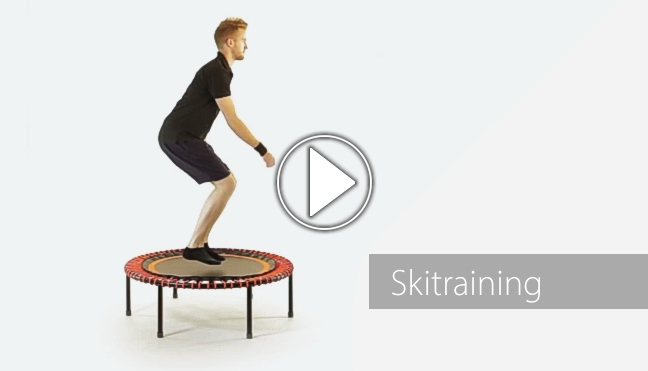 Skitraining-Video mit Ian, Playbutton