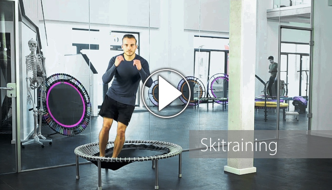 Skitraining-Video mit Daniel, Playbutton