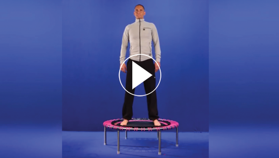 Een zes minuten power training op de bellicon met Remy Draaijer, video play symbol
