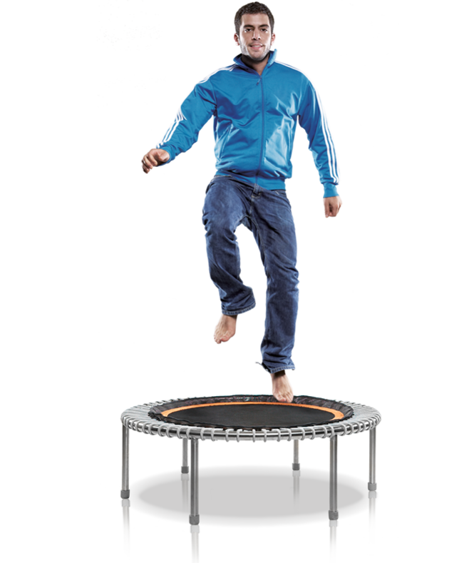 Optimale spiertraining met de bellicon trampoline
