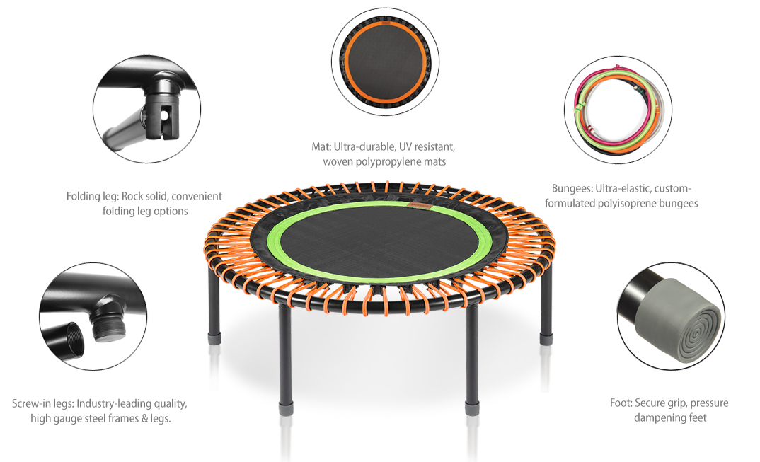 bellicon® mini trampoline quality properties