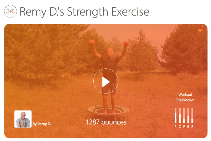 Remy D.'s Strength Exercise