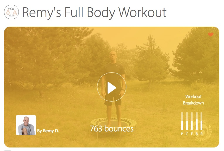 Remy's Full Body Workout