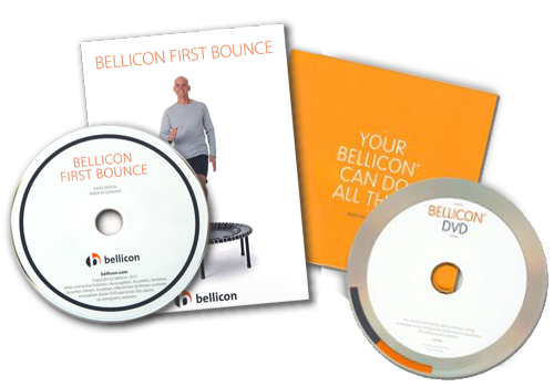 2 dvds with bellicon exercises