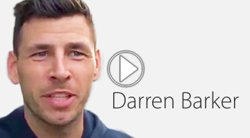 Picture of Darren Barker, play button