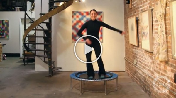 Essential HIIT Rebounder Workout for Fitness with bellicon®