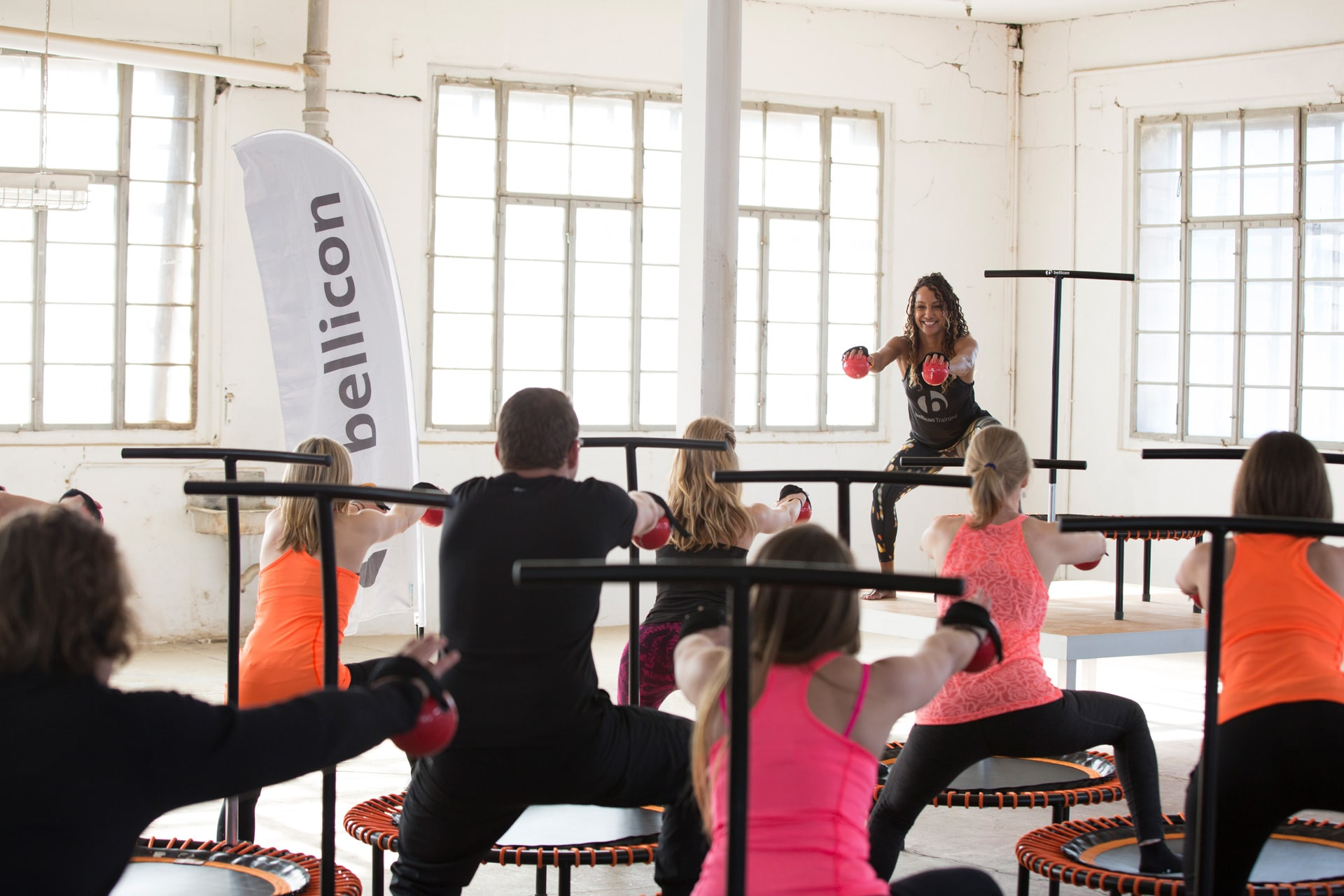 bellicon lessen in uw fitnesscentrum