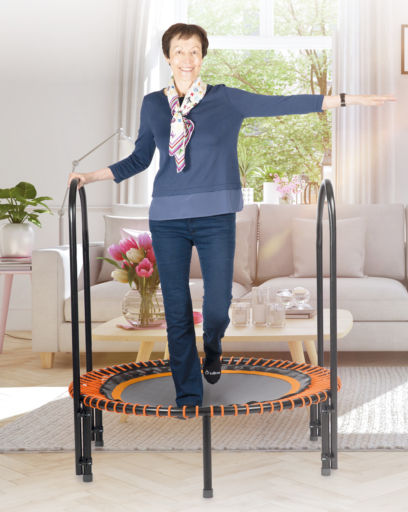 Arthrosis: improve your mobility with the trampoline