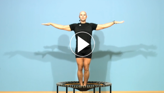 purBounce routine on the bellicon - balance, streching & cardio