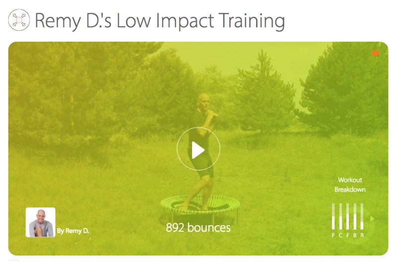 Remy D.'s Low Impact Training