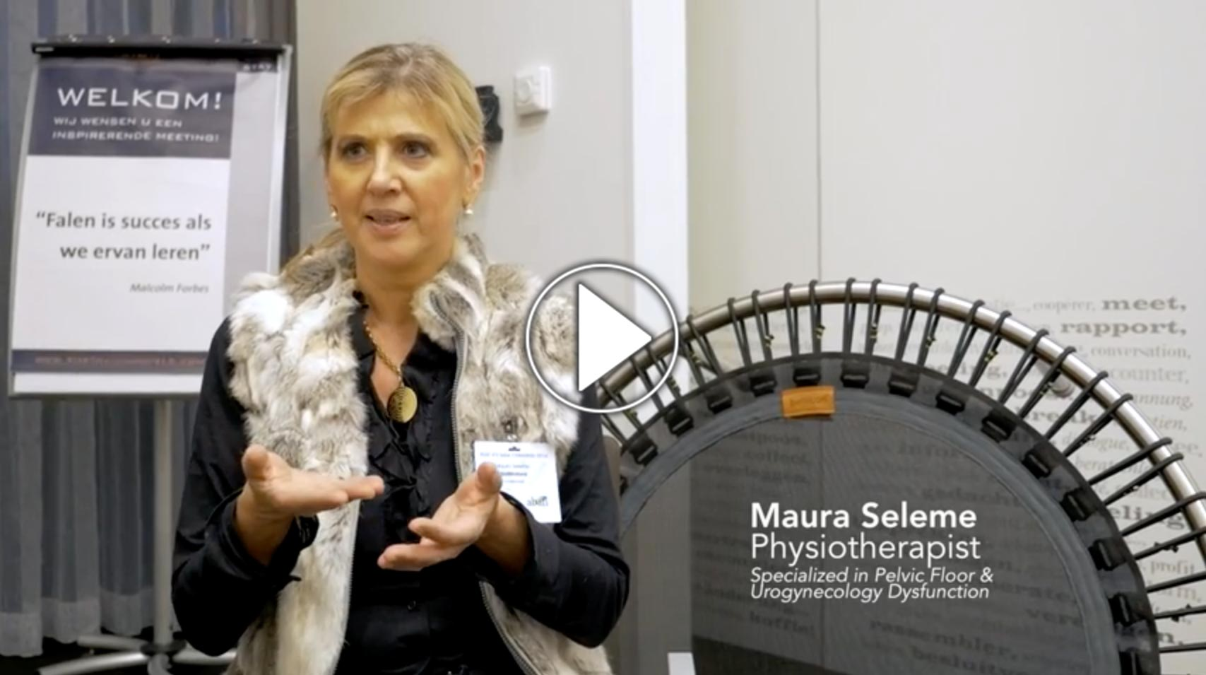 Dr. Maura Seleme talks about the pelvic floor