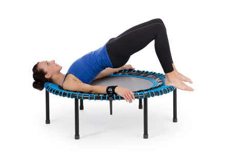 "Woman doing ""Move-exercises"" on a bellicon"