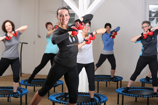 bellicon Move group training with trainer