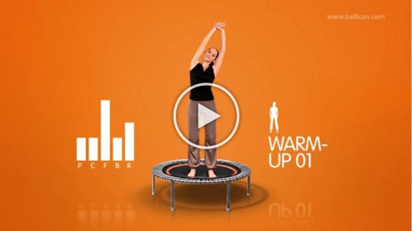 15 min. Mini Trampoline Exercise Workout with bellicon®