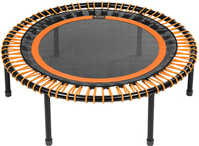 mini trampoline orange