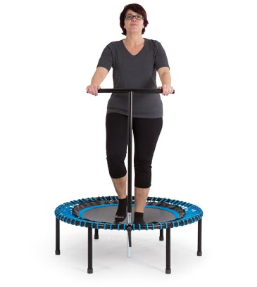 Activate the lymphatic flow with the trampoline