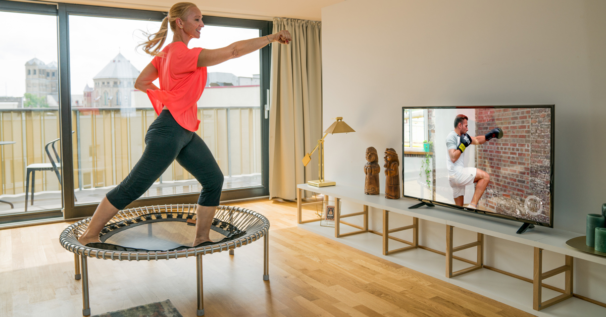 Cardio training with the bellicon®